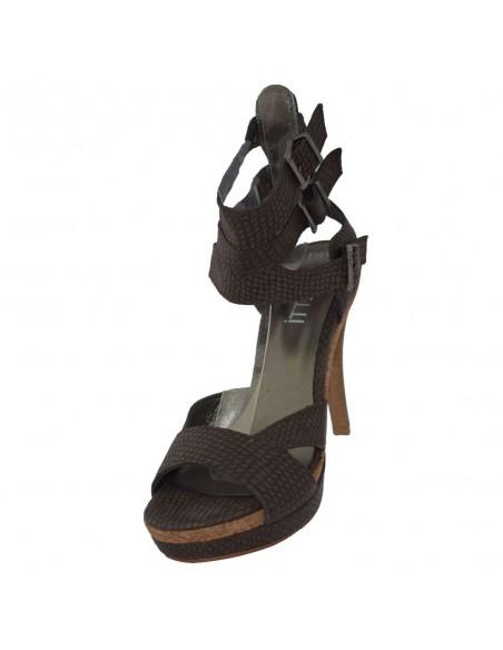 Sandale dama, piele naturala, marca Endican, Cod B7153-2, culoare maro