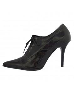 Pantofi dama, din piele naturala, marca Endican, 570-1, negru