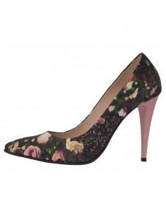 Pantofi dama, piele naturala, marca Botta, Cod 632-6-M8-05, culoare roz