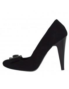 Pantofi dama, din piele naturala, marca Perla, 2115-1, negru