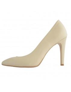 Pantofi dama, din piele naturala, marca Guban, 5112-03-06-07, bej