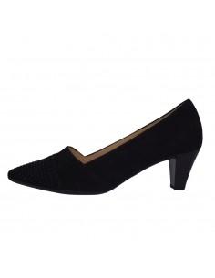 Pantofi dama, piele naturala, marca Gabor, Cod 65146-01-30, culoare negru