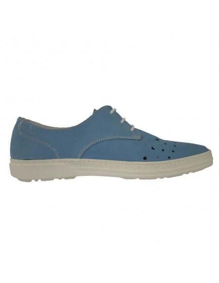Pantofi Waldlaufer piele naturală gri 355001