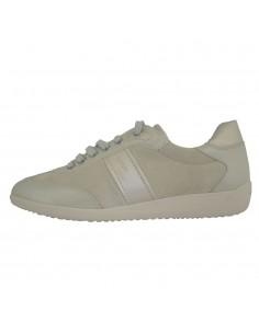 Pantofi sport dama, piele naturala, marca Geox, Cod D7268A-14-06, culoare gri
