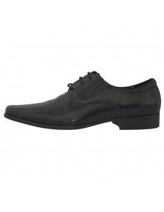 Pantofi eleganti barbati, din piele naturala, marca Eldemas, 663-91S-01-24, negru