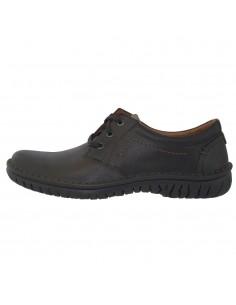 Pantofi barbati, piele naturala, marca Krisbut, Cod 4798-01-119, culoare negru