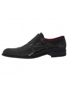 Pantofi eleganti barbati, piele naturala, marca Conhpol, Cod 5099-01-40, culoare negru