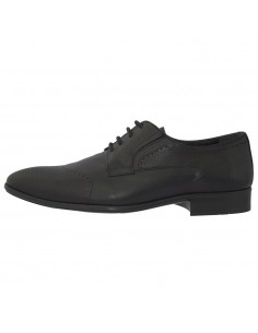 Pantofi eleganti barbati, din piele naturala, marca Otter, 5104-01-79, negru