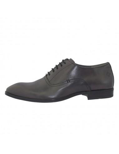 Pantofi barbati, piele naturala, marca Marco Santini, Cod A6K2490GR-14-28, culoare gri
