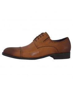 Pantofi eleganti barbati, piele naturala, marca Alberto Clarinii, Cod A053-55C-16-113, culoare coniac