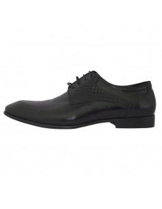 Pantofi eleganti barbati, piele naturala, marca Saccio, Cod A582-11A-01-17, culoare negru
