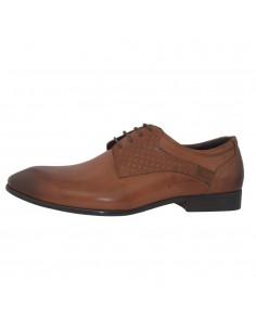 Pantofi eleganti barbati, piele naturala, marca Saccio, Cod A582-11C-16-17, culoare coniac