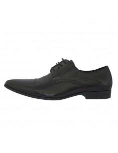 Pantofi eleganti barbati, piele naturala, marca Saccio, Cod AE110207-8A-01-17, culoare negru