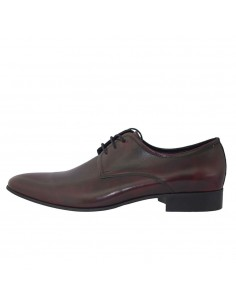 Pantofi eleganti barbati, piele naturala, marca Conhpol, Cod C00C-3348-30-40, culoare bordo