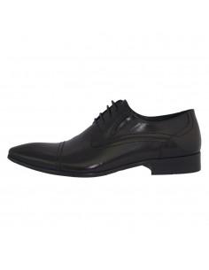 Pantofi eleganti barbati, piele naturala, marca Alberto Clarinii, Cod D7712-S01A-01-113, culoare negru