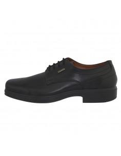 Pantofi barbati, din piele naturala, marca Geox, U34T2A-01-06, negru