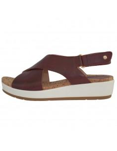 Sandale dama, piele naturala, marca Pikolinos, Cod W1G-0757C2-30-21, culoare visiniu inchis