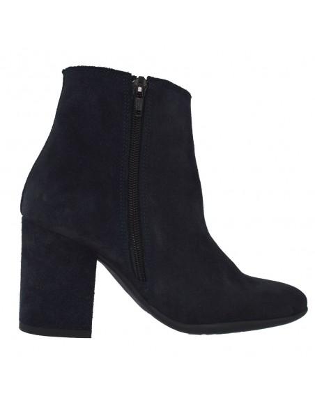 Pantofi Sport Gri Sport din material textil in combinatie cu piele negru 121133S4G