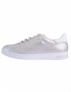 Pantofi sport dama, piele naturala, marca Geox, Cod D621BA-18-06, culoareargintiu