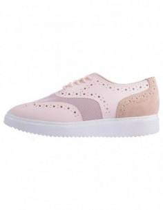 Pantofi dama, piele naturala, marca Geox, Cod D724BB-M8-06, culoare roz