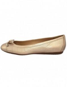 Balerini dama, piele naturala, marca Geox, Cod D93M4A-17-06, culoare auriu