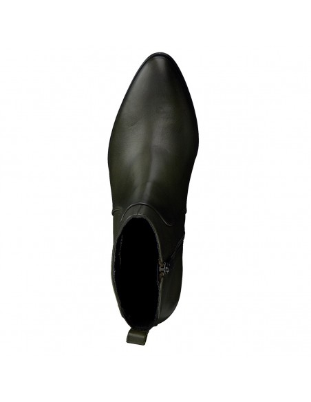 Pantofi Botta din piele naturala lacuita negru 789