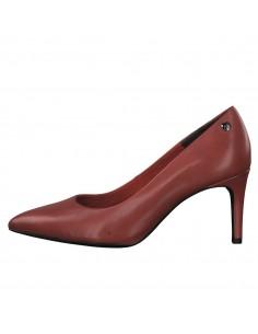 Pantofi dama, din piele naturala, marca s.Oliver, 5-22421-23-N-05-15, rosu