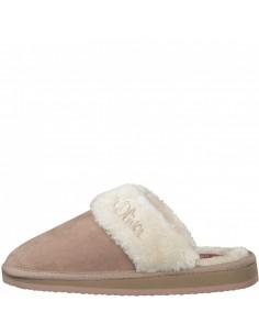 Papuci de casa dama, din textil, marca s.Oliver, 5-27100-33-C5-15, roze