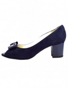 Pantofi dama, din piele naturala, marca Otter, E655-42-77, bleumarin