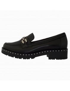 Pantofi dama, din piele naturala, marca Pitillos, 5814-N-01-132, negru
