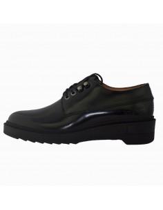 Pantofi dama, din piele naturala, marca KicKers, 734250-50-N-01-134, negru