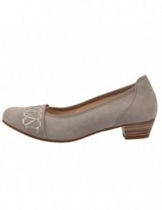 Pantofi dama, piele naturala, marca Gabor, Cod GB6626-14-30, culoare gri