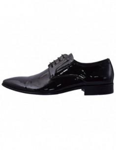 Pantofi eleganti barbati, piele naturala, marca Saccio, Cod J2582-F07B-02-17, culoare negru