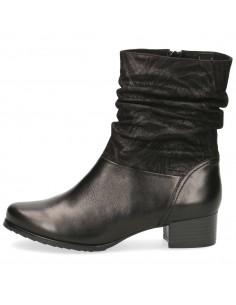 Ghete dama, din piele naturala, marca Caprice, 9-25301-23-01-N-03, negru