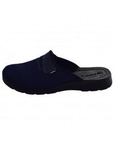 Papuci de casa barbati, din textil, marca Inblu, BG000036-42-89, bleumarin