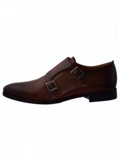 Pantofi eleganti barbati, piele naturala, marca Gino Rossi, Cod MPV506-W09-16-32, culoare coniac