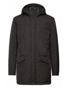 Jacheta textil  barbati, din poliamida, marca Geox, M9420F-F9000-N-01-06, negru