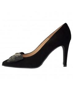 Pantofi dama, din piele naturala, marca Brenda Zaro, T3454-N-01-84, negru