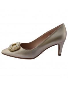 Pantofi dama, din piele naturala, marca Brenda Zaro, T3458C-N-12-84, auriu