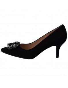 Pantofi dama, din piele naturala, marca Brenda Zaro, T3459A-N-01-84, negru