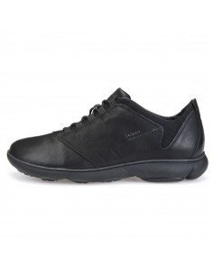 Adidasi barbati, din piele naturala, marca Geox, U52D7A-C999-N-01-06, negru