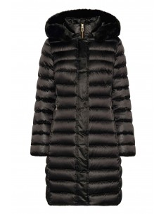 Jacheta textil  dama, din poliamida, marca Geox, W9425H-F9000-01-06, negru