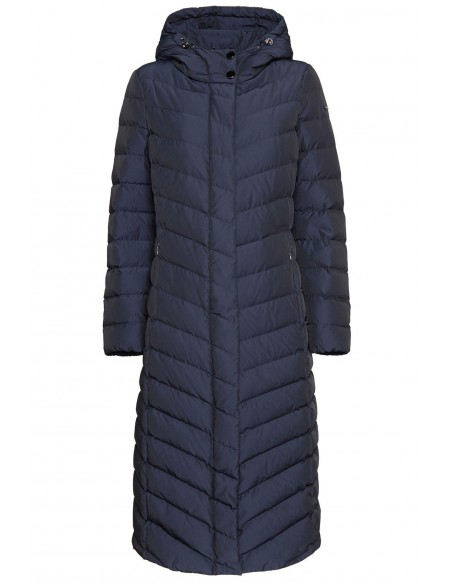 Jacheta textil  dama, din poliamida, marca Geox, W9425L-F4476-N-42-06, bleumarin
