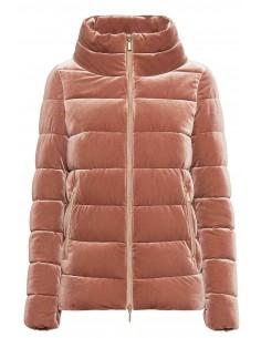 Jacheta textil  dama, din poliamida, marca Geox, W9428Y-F8254-N-54-06, roz inchis