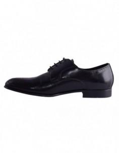 Pantofi eleganti barbati, piele naturala, marca Eldemas, Cod S6A98-20-01-24, culoare negru