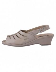 Sandale dama, piele naturala, marca Suave, Cod SU0267-03-31, culoare bej