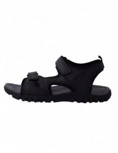 Sandale barbati, piele naturala, marca Geox, Cod U4224A-01-06, culoare gri