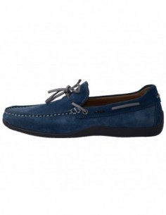 Pantofi eleganti barbati, piele naturala, marca Geox, Cod U42D3B-M6-06, culoare albastru
