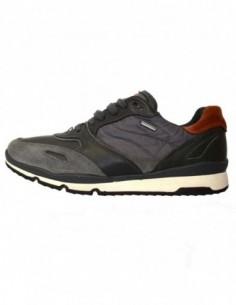 Pantofi sport barbati, piele naturala, marca Geox, Cod U44S7A-14-06, culoare gri