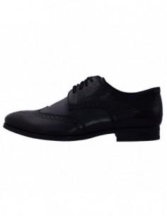 Pantofi eleganti barbati, din piele naturala, marca Geox, U44W3B-01-06, negru